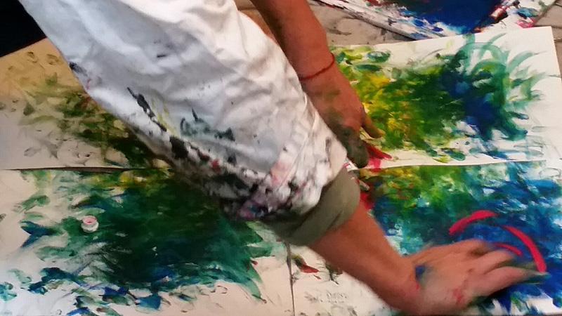 art-thérapie par la peinture 78000 Versailles