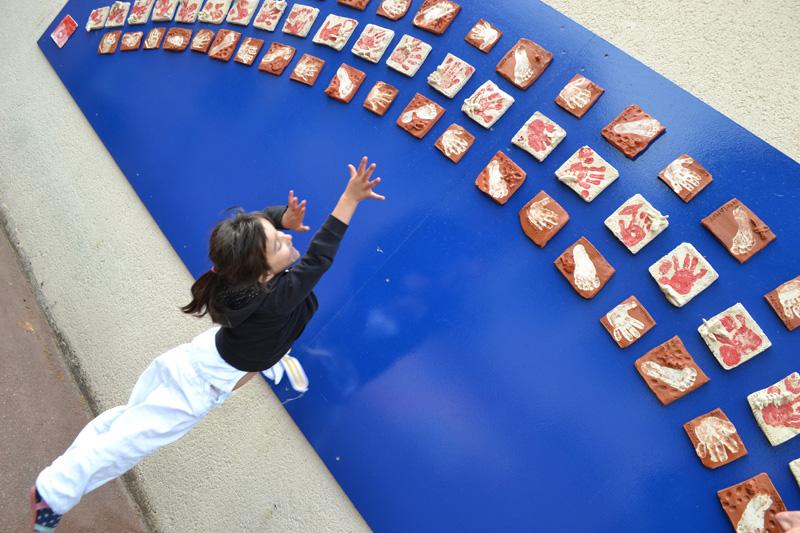 projet artistique en maternelle Versailles