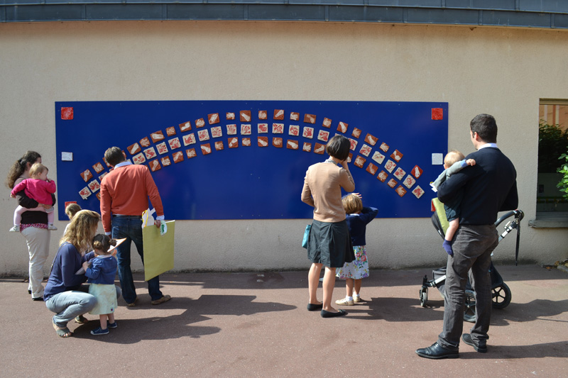 artiste plasticienne en milieu scolaire Versailles