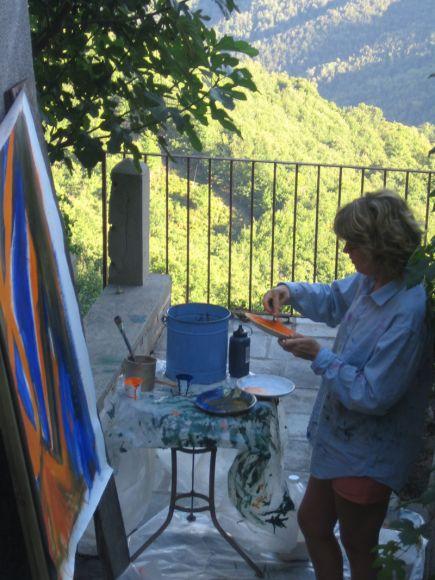 Cécile Orsoni art-thérapeute, artiste plasticienne Versailles, Bastia