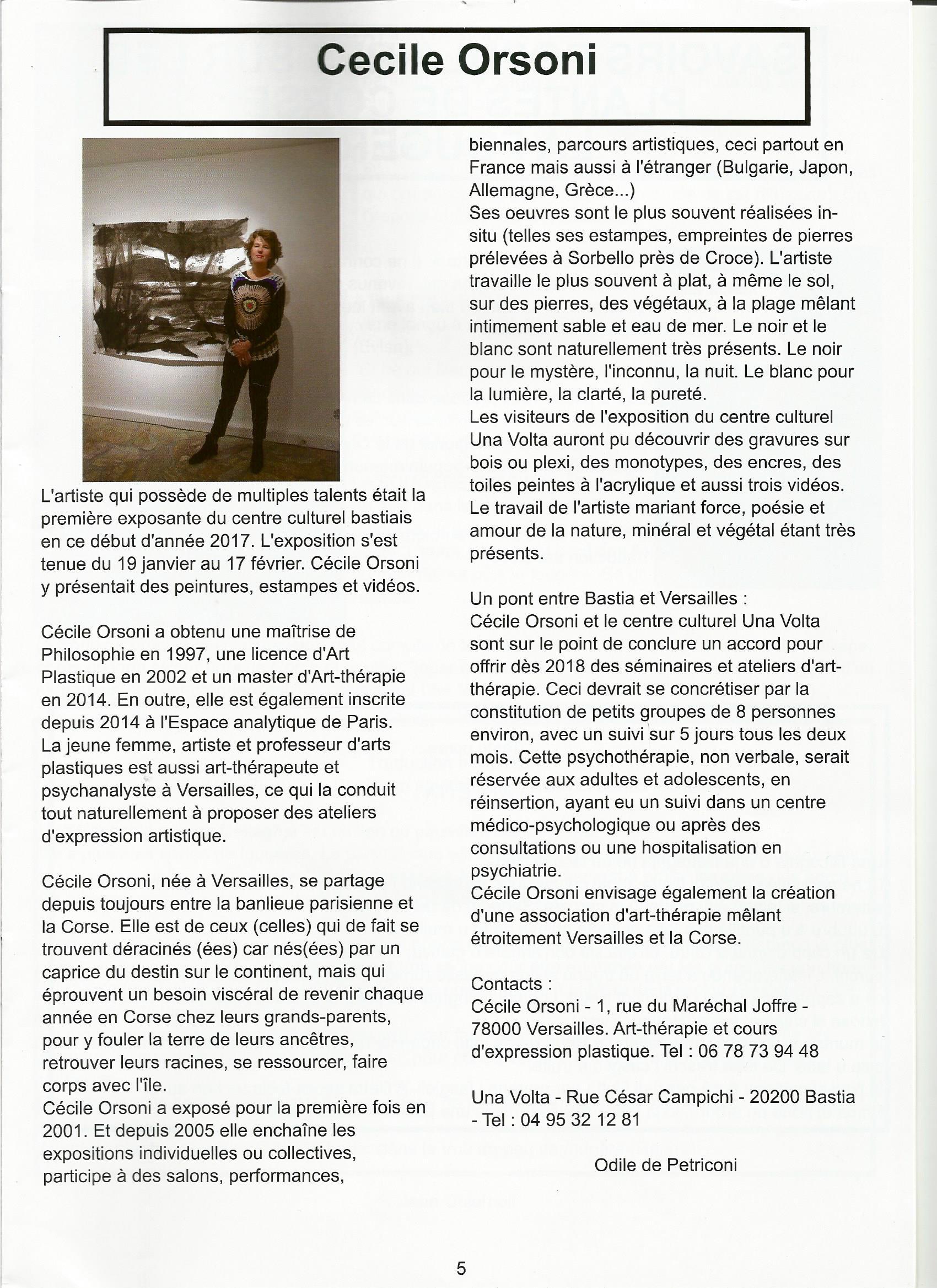art-thérapie Versailles 78 Bastia