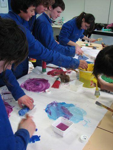 cours adultes peinture gravure versailles yvelines