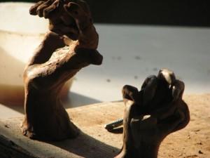Cours de sculpture atelier Cécile Orsoni Versailles