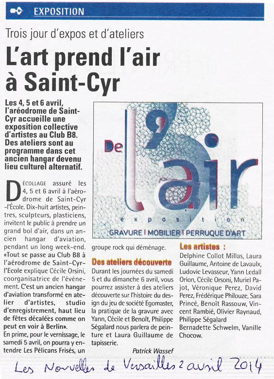 Exposition Journées européènnes des Métiers d' Art 2014, De l' Air