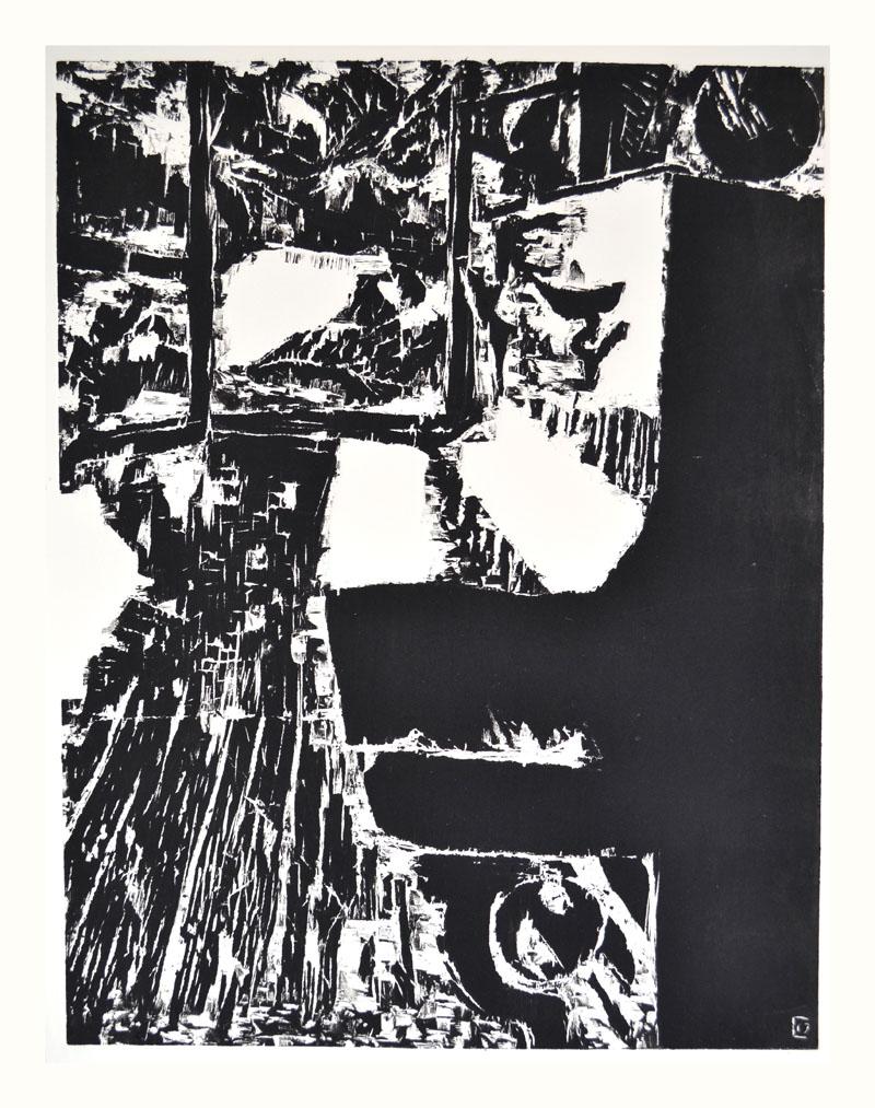 Cécile Orsoni exposition personnelle de gravure sur bois