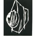 gravure sur bois de Cécile Orsoni exposée galerie Herzog décembre 2012