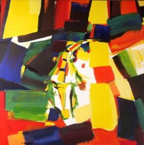 acrylique sur toile de C.Orsoni