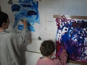 cours de peinture pour enfant versailles