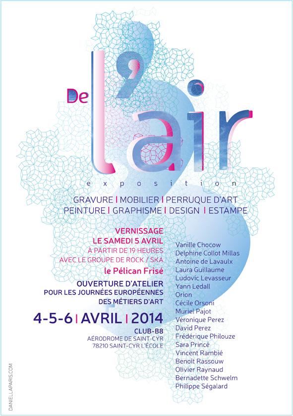 Exposition De l' Air , Journées Européènnes des Métiers d' Art 2014