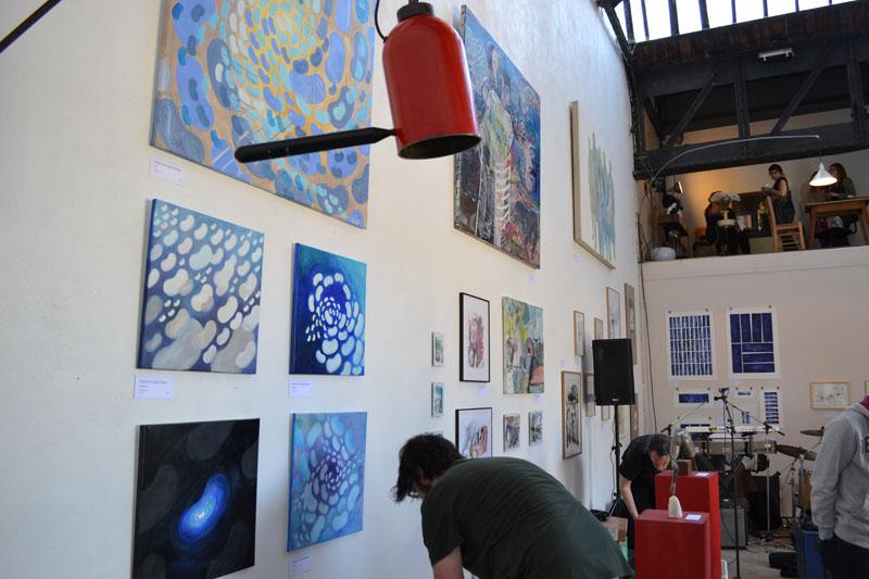 jounées européènnes des métiers d'art 2014, expo De l' Air