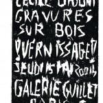 Vernissage Cécile Orsoni eudi 15 mai 2014
