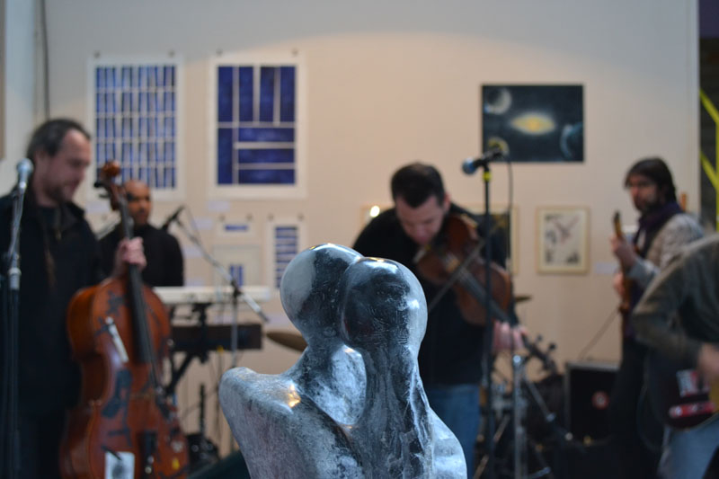 Vernissage Expo-concert De l' Air
