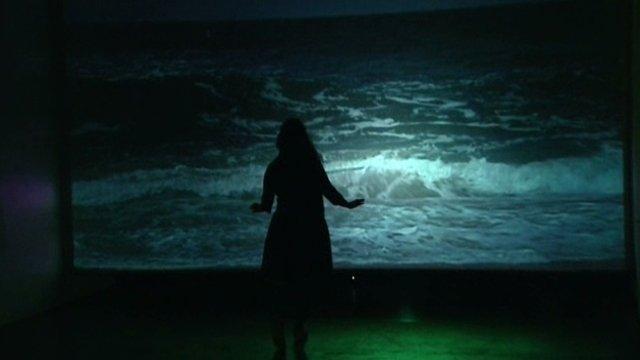 Thierry Kuntzel, installation et vidéo la vague