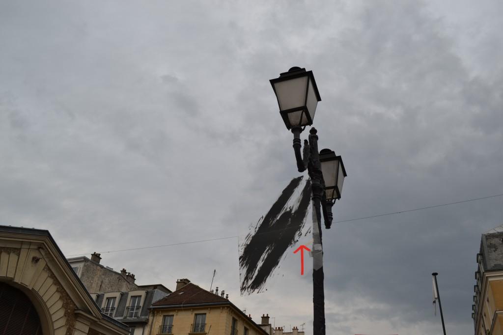 installation Cécile Orsoni Nuit de la Création 2014