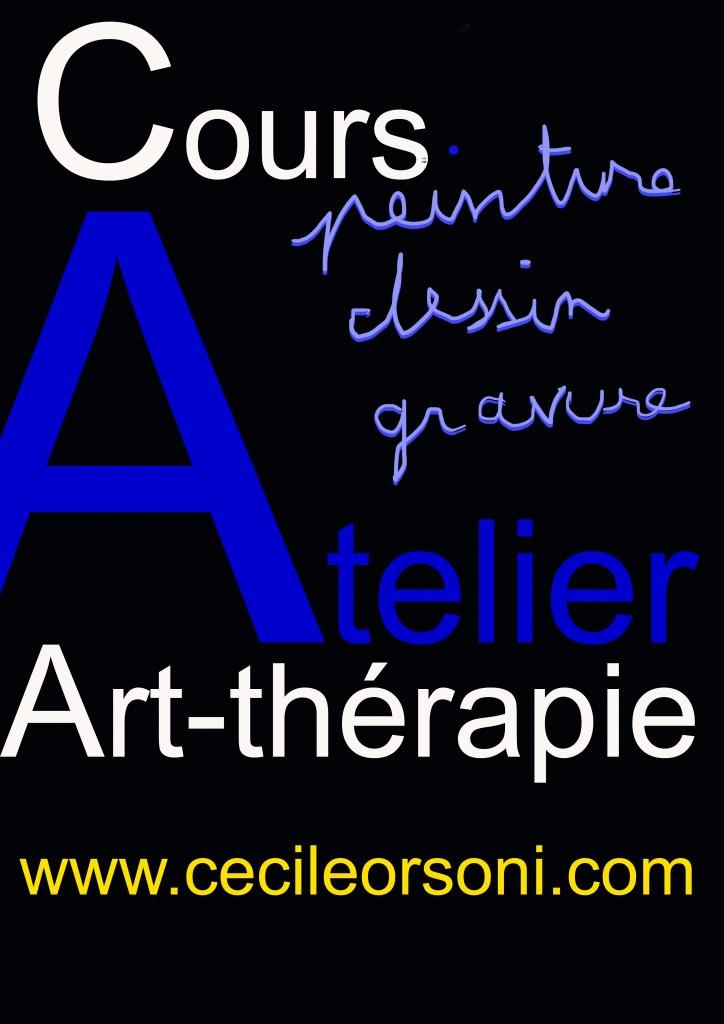 art-thérapie, cours de dessin Versailles