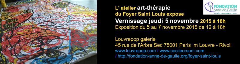 exposition d' art-thérapie paris