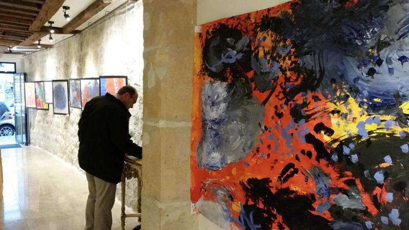 séance d'art-thérapie en groupe Paris 75001