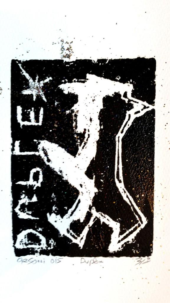 gravure sur bois Cécile Orsoni