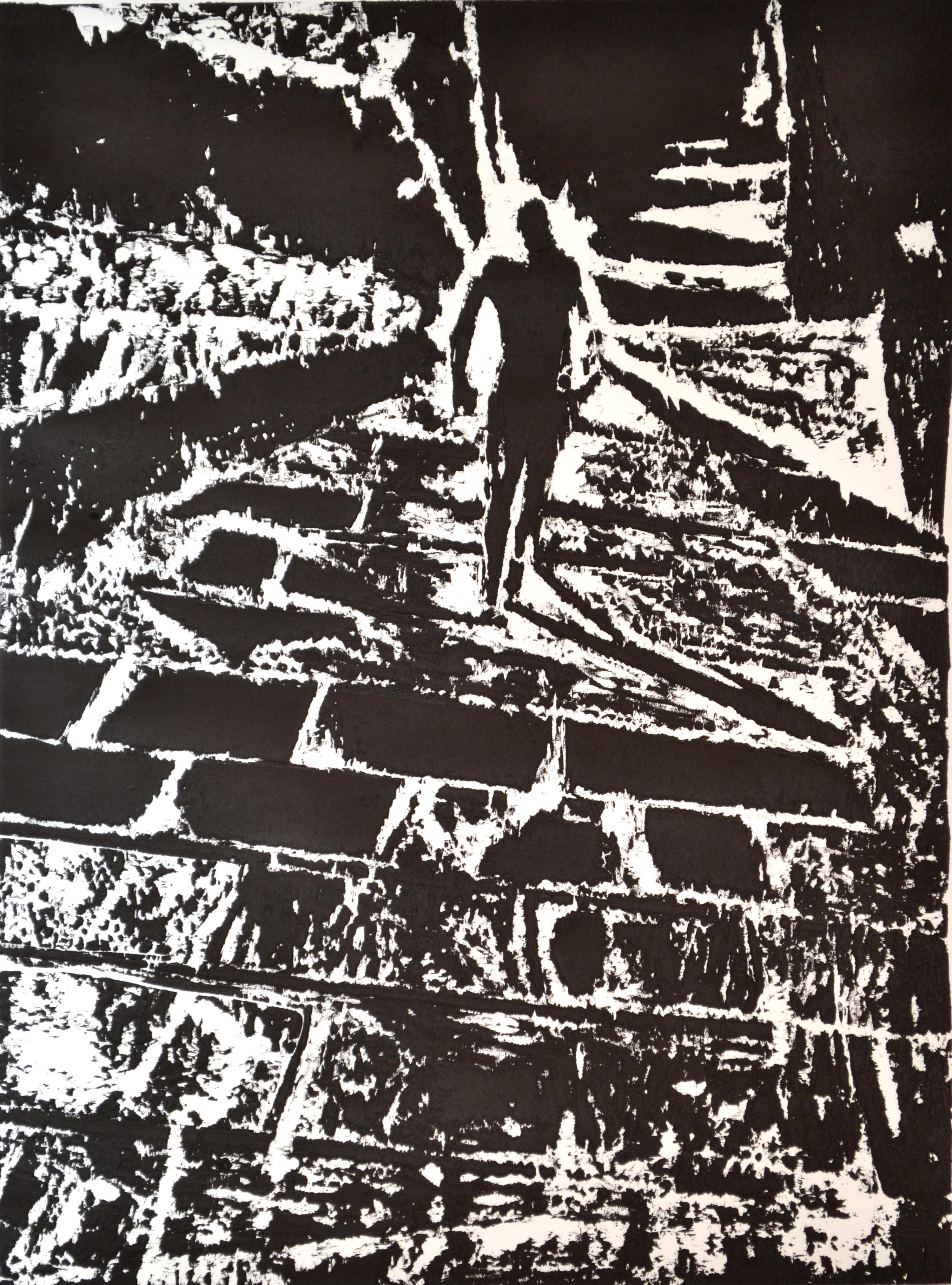 exposition personnelle Cécile Orsoni gravures sur bois Paris