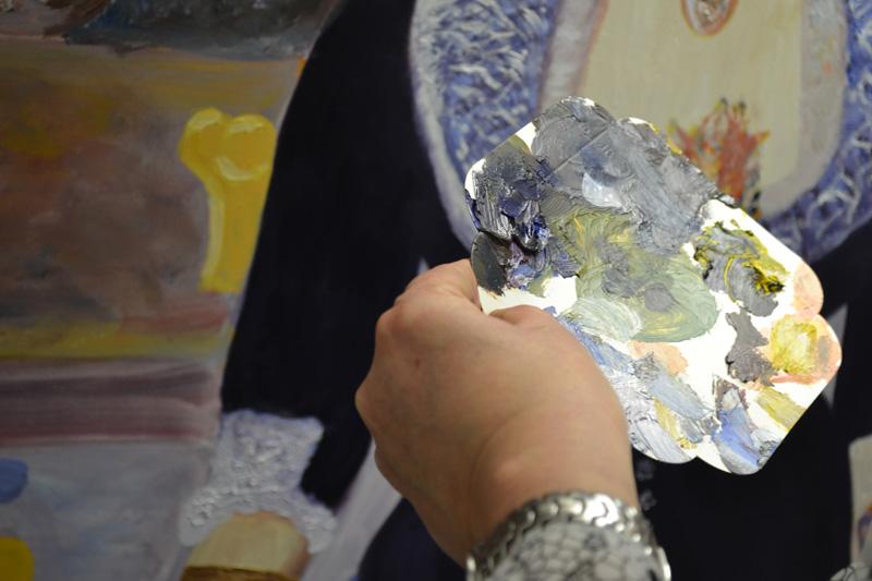 -thérapie cours de peinture Versailles