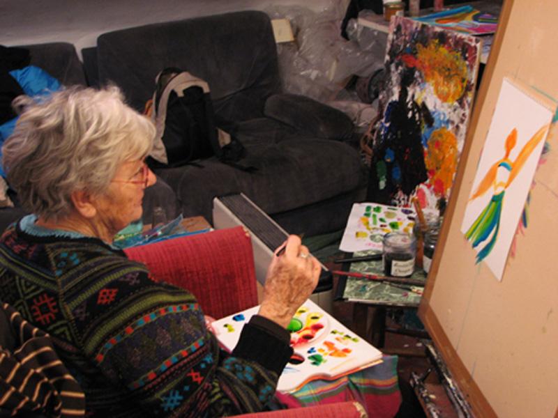 cours adultes peinture dessin gravure atelier Cécile Orsoni Versailles