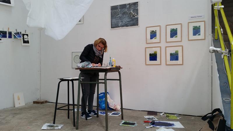 cours de peinture, cours de gravure Versailles 78