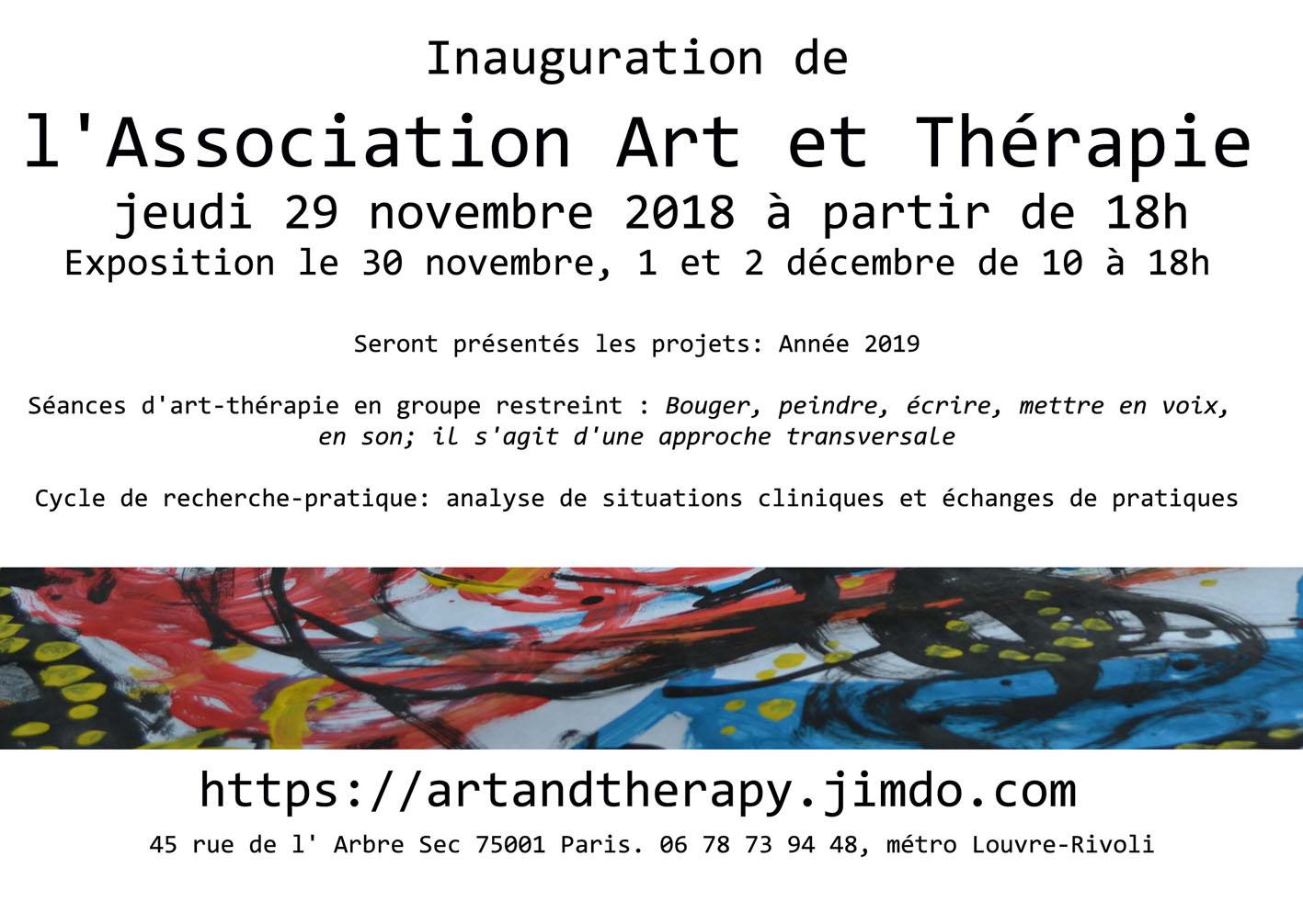 séances d'art-thérapie Paris, Versailles,