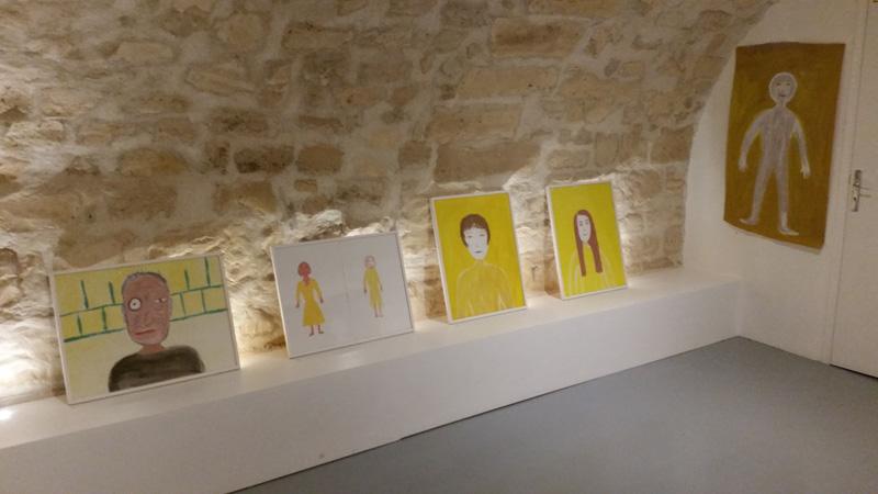 exposition de l' art-thérapeite Cécile Orsoni Paris