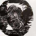 Cécile Orsoni exposition gravure sur bois Athènes