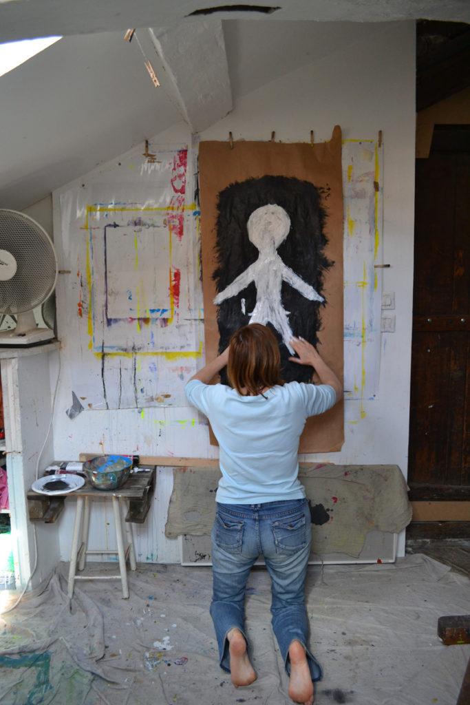 Séances individuelles d'art-thérapie Versailles , psychothérapie par la peinture et la psychanalyse